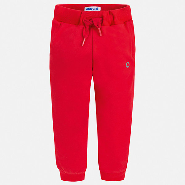 Брюки Mayoral для мальчикаБрюки<br>Характеристики товара:<br><br>• цвет: красный<br>• состав ткани: 78% хлопок, 18% полиэстер, 4% эластан<br>• сезон: демисезон<br>• особенности модели: спортивный стиль<br>• пояс: шнурок<br>• страна бренда: Испания<br>• стиль и качество<br><br>Качественные брюки спортивного силуэта для мальчика Mayoral отличаются мягкой резинкой и шнурком на талии. Такие детские брюки подойдут для занятий спортом и ежедневного ношения. Детские спортивные брюки сшиты из качественного материала с преобладанием хлопка в составе. <br><br>Брюки Mayoral (Майорал) для мальчика можно купить в нашем интернет-магазине.<br>Ширина мм: 215; Глубина мм: 88; Высота мм: 191; Вес г: 336; Цвет: бордовый; Возраст от месяцев: 18; Возраст до месяцев: 24; Пол: Мужской; Возраст: Детский; Размер: 92,134,128,122,116,110,104,98; SKU: 7537617;