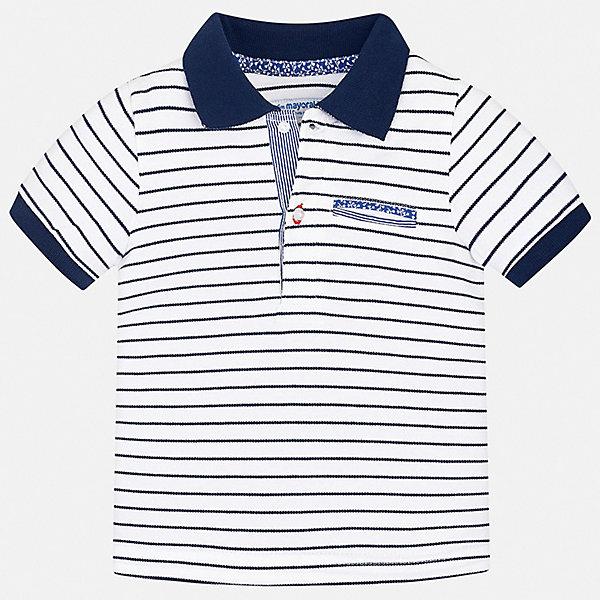Купить Рубашка-поло Mayoral для мальчика, Китай, синий, 80, 98, 92, 86, Мужской