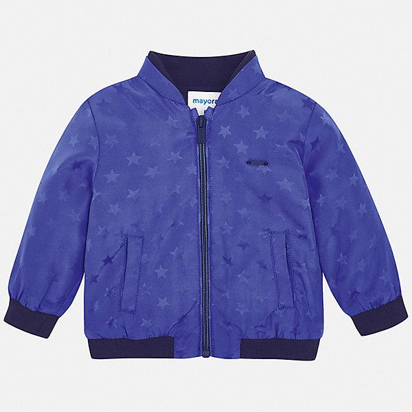 Куртка Mayoral для мальчикаВетровки и жакеты<br>Куртка Mayoral для мальчика<br>Ширина мм: 356; Глубина мм: 10; Высота мм: 245; Вес г: 519; Цвет: синий; Возраст от месяцев: 12; Возраст до месяцев: 18; Пол: Мужской; Возраст: Детский; Размер: 86,98,92; SKU: 7538414;