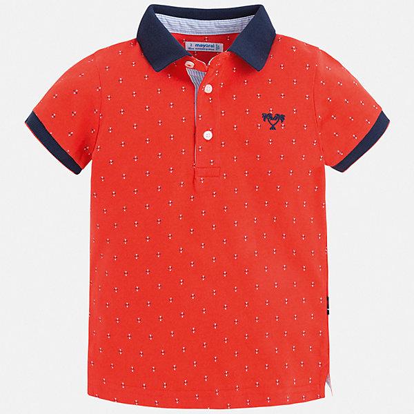 Купить Рубашка-поло Mayoral для мальчика, Китай, бежевый, 110, 104, 98, 92, 134, 128, 122, 116, Мужской