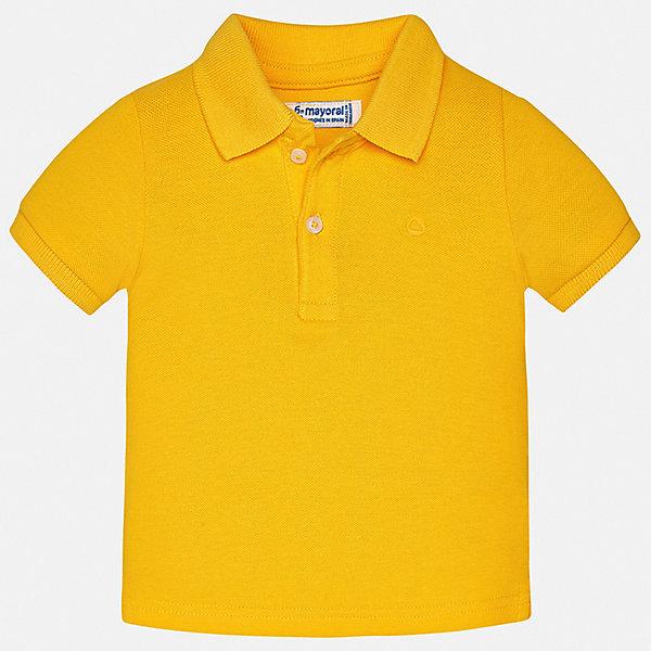 Футболка-поло Mayoral для мальчикаФутболки, поло и топы<br>Рубашка-поло Mayoral для мальчика<br>Ширина мм: 174; Глубина мм: 10; Высота мм: 169; Вес г: 157; Цвет: желтый; Возраст от месяцев: 12; Возраст до месяцев: 15; Пол: Мужской; Возраст: Детский; Размер: 80,98,92,86; SKU: 7541064;