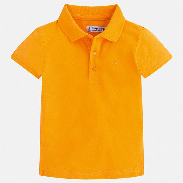 Купить Рубашка-поло Mayoral для мальчика, Китай, желтый, 92, 134, 128, 122, 116, 110, 104, 98, Мужской