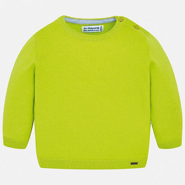 Свитер Mayoral для мальчикаТолстовки, свитера, кардиганы<br>Характеристики товара:<br><br>• цвет: зеленый<br>• состав ткани: 82% хлопок, 18% полиамид<br>• сезон: демисезон<br>• застежка: пуговицы<br>• длинные рукава<br>• страна бренда: Испания<br>• стиль и качество<br><br>Яркий свитер для мальчика от Майорал имеет пуговицы на плече. Детский свитер отличается модным универсальным дизайном. В свитере для мальчика от испанской компании Майорал ребенок чувствовать себя комфортно в прохладную погоду. <br><br>Свитер Mayoral (Майорал) для мальчика можно купить в нашем интернет-магазине.<br>Ширина мм: 190; Глубина мм: 74; Высота мм: 229; Вес г: 236; Цвет: зеленый; Возраст от месяцев: 6; Возраст до месяцев: 9; Пол: Мужской; Возраст: Детский; Размер: 74,98,80,86,92; SKU: 7541464;