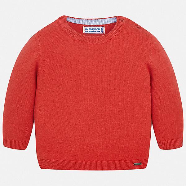 Свитер Mayoral для мальчикаТолстовки, свитера, кардиганы<br>Характеристики товара:<br><br>• цвет: красный<br>• состав ткани: 82% хлопок, 18% полиамид<br>• сезон: демисезон<br>• застежка: пуговицы<br>• длинные рукава<br>• страна бренда: Испания<br>• стиль и качество<br><br>Этот свитер для мальчика Mayoral удобно сидит по фигуре. Яркий детский свитер сделан из приятного на ощупь материала. Отличный способ обеспечить ребенку комфорт и аккуратный внешний вид - надеть детский свитер от Mayoral. Свитер для мальчика украшен оригинальным декором. <br><br>Свитер Mayoral (Майорал) для мальчика можно купить в нашем интернет-магазине.<br>Ширина мм: 190; Глубина мм: 74; Высота мм: 229; Вес г: 236; Цвет: бордовый; Возраст от месяцев: 6; Возраст до месяцев: 9; Пол: Мужской; Возраст: Детский; Размер: 74,98,92,86,80; SKU: 7541476;