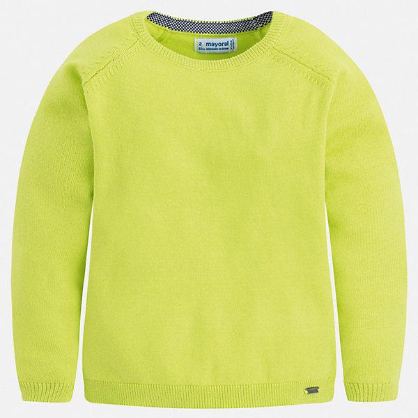 Свитер Mayoral для мальчикаСвитера и кардиганы<br>Характеристики товара:<br><br>• цвет: зеленый<br>• состав ткани: 82% хлопок, 18% полиамид<br>• сезон: демисезон<br>• длинные рукава<br>• страна бренда: Испания<br>• стиль и качество<br><br>Оригинальный яркий свитер для мальчика от Майорал имеет пуговицы на плече. Детский свитер отличается модным универсальным дизайном. В свитере для мальчика от испанской компании Майорал ребенок чувствовать себя комфортно в прохладную погоду. <br><br>Свитер Mayoral (Майорал) для мальчика можно купить в нашем интернет-магазине.<br>Ширина мм: 190; Глубина мм: 74; Высота мм: 229; Вес г: 236; Цвет: зеленый; Возраст от месяцев: 18; Возраст до месяцев: 24; Пол: Мужской; Возраст: Детский; Размер: 92,134,128,122,116,110,104,98; SKU: 7541514;