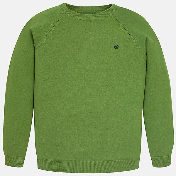 Свитер Mayoral для мальчикаСвитера и кардиганы<br>Характеристики товара:<br><br>• цвет: зеленый<br>• состав ткани: 82% хлопок, 18% полиамид<br>• сезон: демисезон<br>• длинные рукава<br>• страна бренда: Испания<br>• стиль и качество<br><br>Удобный и практичный детский свитер сделан из дышащего приятного на ощупь материала. Благодаря продуманному крою детского свитера создаются комфортные условия для тела. Свитер для мальчика отличается стильным продуманным дизайном.<br><br>Свитер Mayoral (Майорал) для мальчика можно купить в нашем интернет-магазине.<br>Ширина мм: 190; Глубина мм: 74; Высота мм: 229; Вес г: 236; Цвет: зеленый; Возраст от месяцев: 96; Возраст до месяцев: 108; Пол: Мужской; Возраст: Детский; Размер: 128/134,170,164,158,152,140; SKU: 7541575;