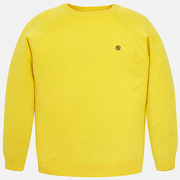 Свитер Mayoral для мальчикаСвитера и кардиганы<br>Характеристики товара:<br><br>• цвет: желтый<br>• состав ткани: 82% хлопок, 18% полиамид<br>• сезон: демисезон<br>• длинные рукава<br>• страна бренда: Испания<br>• стиль и качество<br><br>Такой свитер для мальчика дополнен мягкими манжетами и резинкой по низу. Такой свитер для мальчика Mayoral удобно сидит по фигуре. Яркий детский свитер сделан из приятного на ощупь материала. Отличный способ обеспечить ребенку комфорт и аккуратный внешний вид - надеть детский свитер от Mayoral. <br><br>Свитер Mayoral (Майорал) для мальчика можно купить в нашем интернет-магазине.<br>Ширина мм: 190; Глубина мм: 74; Высота мм: 229; Вес г: 236; Цвет: желтый; Возраст от месяцев: 96; Возраст до месяцев: 108; Пол: Мужской; Возраст: Детский; Размер: 128/134,170,164,158,152,140; SKU: 7541582;