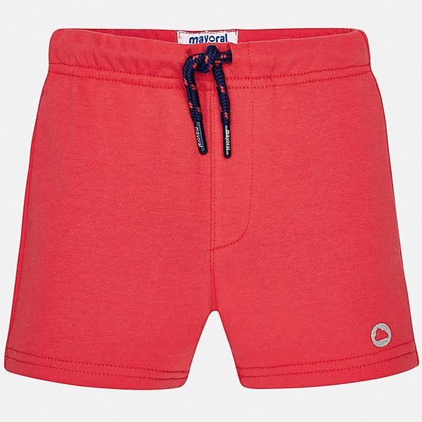 Шорты Mayoral для мальчикаШорты и бриджи<br>Характеристики товара:<br><br>• цвет: красный<br>• состав ткани: 78% хлопок, 18% полиэстер, 4% эластан<br>• сезон: лето<br>• особенности модели: спортивный стиль<br>• пояс: шнурок<br>• страна бренда: Испания<br>• стиль и качество<br><br>Спортивные детские шорты сшиты из дышащего легкого материала. Благодаря наличию в его составе натурального хлопка материал детских шорт создает комфортные условия для тела. Спортивные шорты для мальчика от Mayoral отличаются модным дизайном. <br><br>Шорты Mayoral (Майорал) для мальчика можно купить в нашем интернет-магазине.<br>Ширина мм: 191; Глубина мм: 10; Высота мм: 175; Вес г: 273; Цвет: бордовый; Возраст от месяцев: 24; Возраст до месяцев: 36; Пол: Мужской; Возраст: Детский; Размер: 98,74,80,86,92; SKU: 7541926;