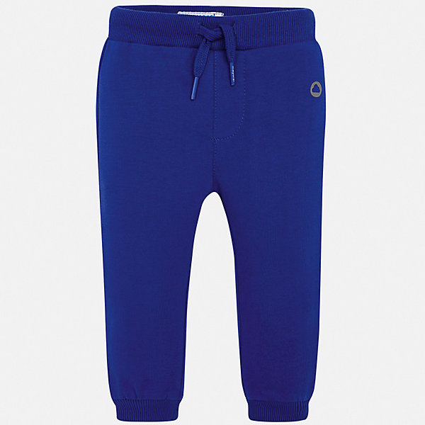 Брюки Mayoral для мальчикаДжинсы и брючки<br>Характеристики товара:<br><br>• цвет: синий<br>• состав ткани: 78% хлопок, 18% полиэстер, 4% эластан<br>• сезон: демисезон<br>• особенности модели: спортивный стиль<br>• пояс: шнурок<br>• страна бренда: Испания<br>• стиль и качество<br><br>Спортивные брюки с резинками по низу брючин для мальчика от Майорал помогут обеспечить ребенку комфорт. Такие детские брюки отличаются стильным лаконичным дизайном. В спортивных брюках для мальчика от испанской компании Майорал ребенок будет чувствовать себя - комфортно. <br><br>Брюки Mayoral (Майорал) для мальчика можно купить в нашем интернет-магазине.<br>Ширина мм: 215; Глубина мм: 88; Высота мм: 191; Вес г: 336; Цвет: синий; Возраст от месяцев: 12; Возраст до месяцев: 15; Пол: Мужской; Возраст: Детский; Размер: 80,74,98,92,86; SKU: 7541968;