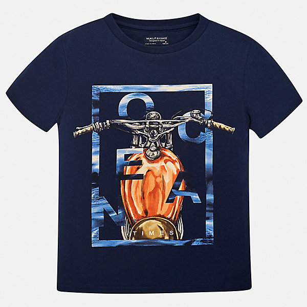 Футболка Mayoral для мальчикаФутболки, топы<br>Характеристики товара:<br><br>• цвет: синий<br>• состав ткани: 100% хлопок<br>• сезон: лето<br>• короткие рукава<br>• страна бренда: Испания<br>• неповторимый стиль Mayoral<br><br>Практичная детская футболка отлично сочетается с различными брюками и шортами. Модная хлопковая футболка для мальчика от Майорал поможет обеспечить ребенку комфорт. В футболке для мальчика от испанской компании Майорал ребенок будет чувствовать себя удобно благодаря качественным швам и натуральному материалу. <br><br>Футболку Mayoral (Майорал) для мальчика можно купить в нашем интернет-магазине.<br>Ширина мм: 199; Глубина мм: 10; Высота мм: 161; Вес г: 151; Цвет: синий; Возраст от месяцев: 96; Возраст до месяцев: 108; Пол: Мужской; Возраст: Детский; Размер: 128/134,170,164,158,152,140; SKU: 7543700;