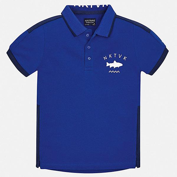 Купить Рубашка-поло Mayoral для мальчика, Китай, разноцветный, 152, 170, 164, 158, 140, 128/134, Мужской