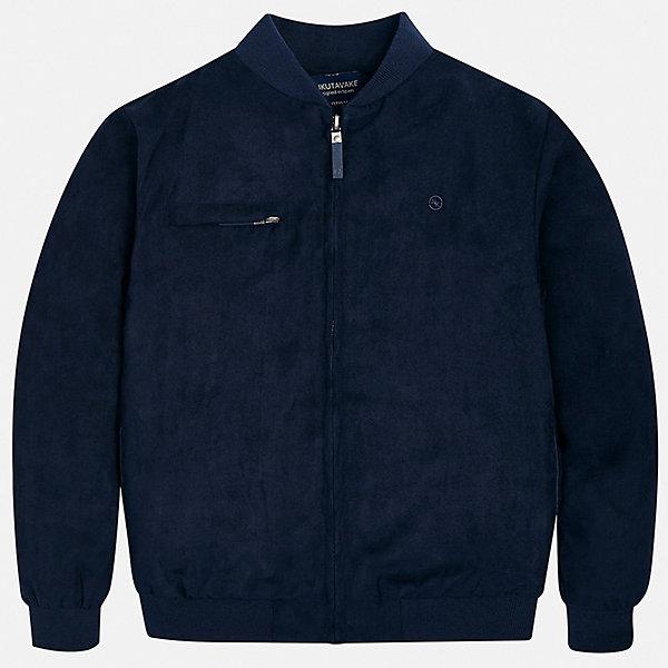 Куртка Mayoral для мальчикаВерхняя одежда<br>Характеристики товара:<br><br>• цвет: мульти<br>• состав ткани: 100% полиэстер<br>• подкладка: 100% полиэстер<br>• утеплитель: нет<br>• сезон: демисезон<br>• особенности куртки: с капюшоном<br>• застежка: молния<br>• страна бренда: Испания<br>• неповторимый стиль Mayoral<br><br>Эта легкая детская куртка сделана из качественного материала и фурнитуры. Куртка для мальчика отличается стильным продуманным кроем от европейских дизайнеров. В детской куртке есть карманы, модель дополнена мягкими манжетами.<br><br>Куртку Mayoral (Майорал) для мальчика можно купить в нашем интернет-магазине.<br>Ширина мм: 356; Глубина мм: 10; Высота мм: 245; Вес г: 519; Цвет: синий; Возраст от месяцев: 168; Возраст до месяцев: 180; Пол: Мужской; Возраст: Детский; Размер: 170,164,158,152,140,128/134; SKU: 7544768;