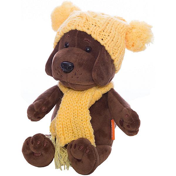 Мягкая игрушка Orange Шенок Кроха в желтой шапочке, 20 см