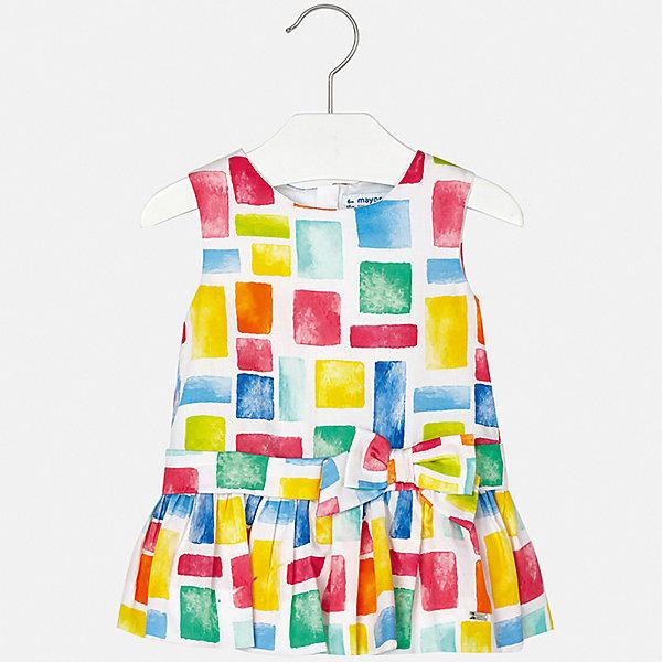 Платье Mayoral для девочкиПлатья<br>Характеристики товара:<br><br>• цвет: фуксия<br>• состав ткани верха: 100% хлопок<br>• подкладка: 100% хлопок<br>• сезон: лето<br>• застежка: молния<br>• без рукавов<br>• страна бренда: Испания<br>• неповторимый стиль Mayoral<br><br>Хлопковое детское платье отличается модным дизайном. Это платье для девочки от Майорал сделано из качественного материала и тщательно подобранной фурнитуры. Платье для девочки от испанской компании Майорал - стильный удачный наряд от европейских дизайнеров. <br><br>Платье для девочки Mayoral (Майорал) можно купить в нашем интернет-магазине.<br>Ширина мм: 236; Глубина мм: 16; Высота мм: 184; Вес г: 177; Цвет: розовый; Возраст от месяцев: 6; Возраст до месяцев: 9; Пол: Женский; Возраст: Детский; Размер: 74,98,92,86,80; SKU: 7546188;