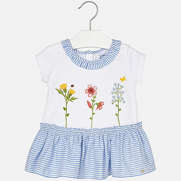 Купить Платье Mayoral для девочки, Индия, сиреневый, 74, 98, 92, 86, 80, Женский
