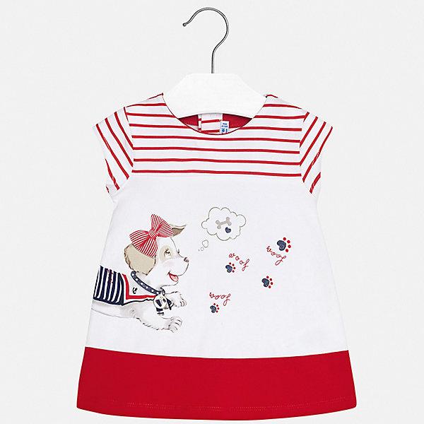 Купить Платье Mayoral для девочки, Индия, красный, 74, 98, 92, 86, 80, Женский