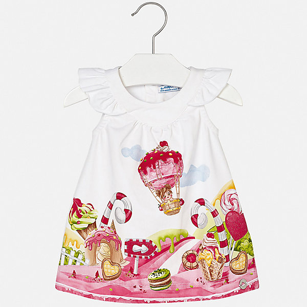 Купить Платье Mayoral для девочки, Индия, розовый, 74, 98, 92, 86, 80, Женский