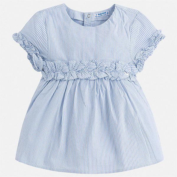 Блуза Mayoral для девочкиБлузки и рубашки<br>Характеристики товара:<br><br>• цвет: мульти<br>• состав ткани: 100% хлопок<br>• сезон: лето<br>• застежка: кнопки<br>• страна бренда: Испания<br>• стиль и качество Mayoral<br><br>Легкая детская блуза - универсальная базовая вещь. Эта блуза для девочки от Майорал поможет обеспечить ребенку комфорт. В блузе для девочки от испанской компании Майорал ребенок будет чувствовать себя удобно благодаря тщательно обработанным швам и качественному материалу. <br><br>Блузу Mayoral (Майорал) для девочки можно купить в нашем интернет-магазине.<br>Ширина мм: 186; Глубина мм: 87; Высота мм: 198; Вес г: 197; Цвет: лиловый; Возраст от месяцев: 96; Возраст до месяцев: 108; Пол: Женский; Возраст: Детский; Размер: 134,92,128,122,116,110,104,98; SKU: 7546723;
