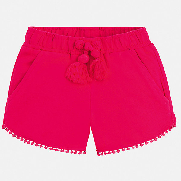 Купить Шорты Mayoral для девочки, Индия, розовый, 92, 134, 128, 122, 116, 110, 104, 98, Женский