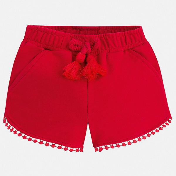 Шорты Mayoral для девочкиШорты, бриджи, капри<br>Характеристики товара:<br><br>• цвет: красный<br>• состав ткани: 62% полиэстер, 33% хлопок, 5% эластан<br>• сезон: лето<br>• пояс: шнурок, резинка<br>• страна бренда: Испания<br>• неповторимый стиль Mayoral<br><br>Эффектные детские шорты сшиты из дышащего легкого материала. Благодаря наличию в его составе натурального хлопка материал детских шорт создает комфортные условия для тела. Шорты для девочки от Mayoral отличаются стильным дизайном.<br><br>Шорты Mayoral (Майорал) для девочки можно купить в нашем интернет-магазине.<br>Ширина мм: 191; Глубина мм: 10; Высота мм: 175; Вес г: 273; Цвет: красный; Возраст от месяцев: 60; Возраст до месяцев: 72; Пол: Женский; Возраст: Детский; Размер: 110,104,98,92,134,128,122,116; SKU: 7548006;