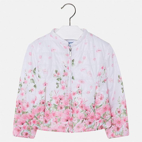 Купить Куртка Mayoral для девочки, Китай, розовый, 122, 134, 128, 116, 110, 104, 98, 92, Женский