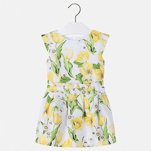Купить Платье Mayoral для девочки, Марокко, желтый, 110, 104, 98, 92, 134, 128, 122, 116, Женский