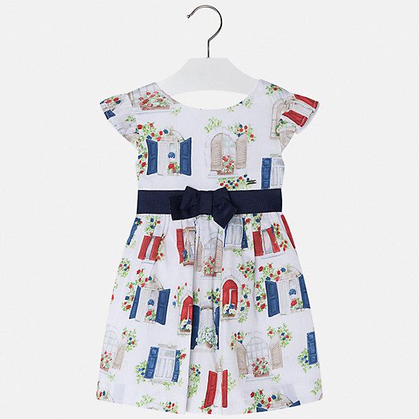 Купить Платье Mayoral для девочки, Марокко, синий, 128, 134, 122, 116, 110, 104, 98, 92, Женский