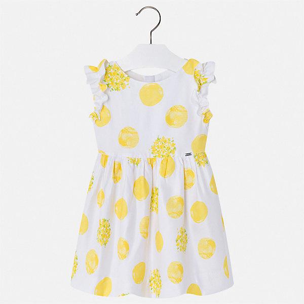 Купить Платье Mayoral для девочки, Марокко, желтый, 92, 134, 128, 122, 116, 110, 104, 98, Женский
