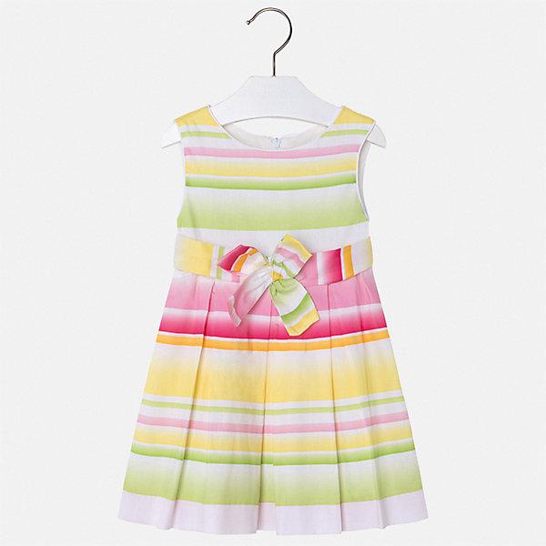 Купить Платье Mayoral для девочки, Марокко, желтый, 122, 116, 110, 104, 98, 92, 134, 128, Женский