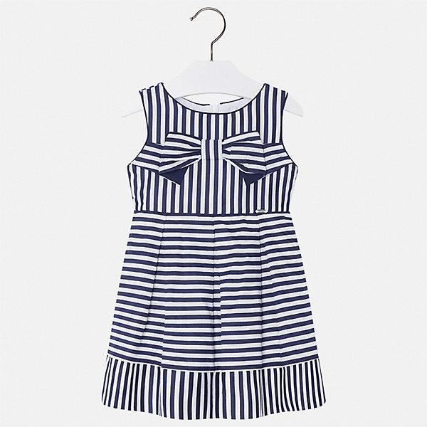 Купить Платье Mayoral для девочки, Марокко, синий, 134, 128, 110, 122, 116, 104, 98, 92, Женский