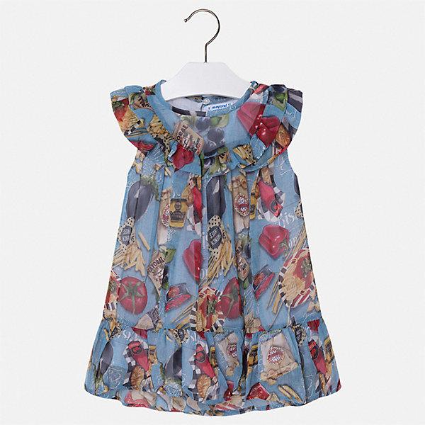 Купить Платье Mayoral для девочки, Марокко, синий, 110, 104, 98, 92, 134, 128, 122, 116, Женский