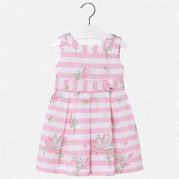 Купить Платье Mayoral для девочки, Китай, розовый, 128, 122, 116, 110, 104, 98, 92, 134, Женский