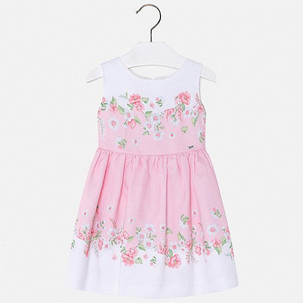 Купить Платье Mayoral для девочки, Китай, розовый, 92, 134, 128, 122, 116, 110, 104, 98, Женский
