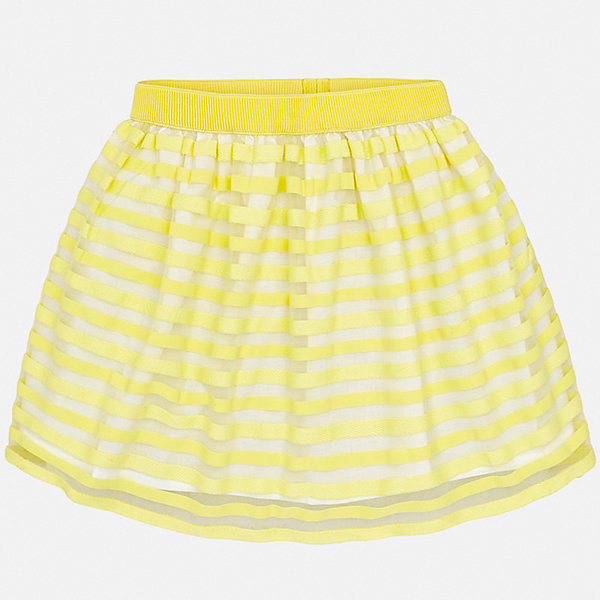 Юбка Mayoral для девочкиЮбки<br>Характеристики товара:<br><br>• цвет: желтый<br>• состав ткани верха: 100% полиэстер<br>• подкладка: 65% полиэстер, 35% хлопок<br>• сезон: круглый год<br>• особенности модели: нарядная<br>• талия: резинка<br>• страна бренда: Испания<br>• стиль и качество Mayoral<br><br>Эффектная юбка для ребенка была разработана специально для девочек. Такая детская юбка от известного бренда Майорал отлично подходит для любого времени года. Эта детская юбка дополнена мягкой резинкой на талии. <br><br>Юбку для девочки Mayoral (Майорал) можно купить в нашем интернет-магазине.<br>Ширина мм: 207; Глубина мм: 10; Высота мм: 189; Вес г: 183; Цвет: желтый; Возраст от месяцев: 156; Возраст до месяцев: 168; Пол: Женский; Возраст: Детский; Размер: 164,152,128/134,140,158; SKU: 7552015;