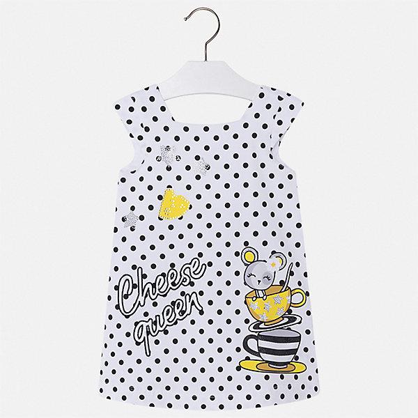 Купить Платье Mayoral для девочки, Турция, черный, 122, 116, 110, 104, 98, 92, 128, 134, Женский