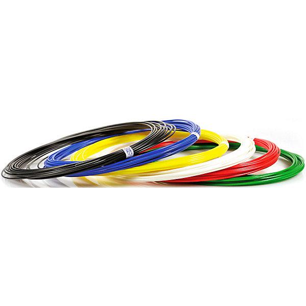 Набор пластика для 3D ручек Unid ABS-9 9 цветов, 10 м каждыйПластик для 3D ручек<br>Характеристики товара: <br><br>• возраст: от 4 лет;<br>• тип пластика: ABS;<br>• в комплекте: 9 катушек по 10 метров;<br>• цвета: белый, черный, красный, синий, желтый, зеленый, фиолетовый, оранжевый, розовый;<br>• размер упаковки: 18,5х18,7х5,7 см;<br>• вес упаковки: 280 гр.;<br>• страна производитель: Китай.<br><br>Набор пластика для 3D ручек Unid ABS-9 — необходимый материал при использовании 3D ручки для создания объемных рисунков. Пластик под нагреванием способен принимать разнообразные формы. Пластик ABS является нетоксичным и безопасным.<br><br>Набор пластика для 3D ручек Unid ABS-9 можно приобрести в нашем интернет-магазине.<br>Ширина мм: 185; Глубина мм: 187; Высота мм: 57; Вес г: 280; Возраст от месяцев: 48; Возраст до месяцев: 1188; Пол: Унисекс; Возраст: Детский; SKU: 7556134;