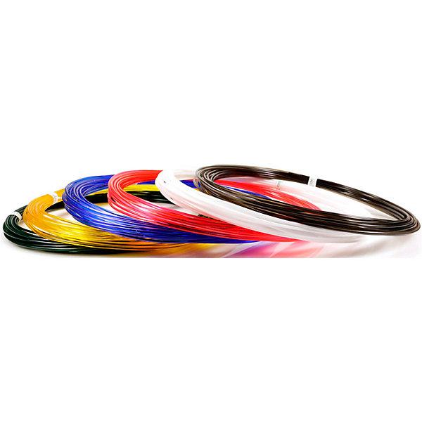 Набор пластика для 3D ручек Unid PRO-6 6 цветов, 10 м каждыйПластик для 3D ручек<br>Характеристики товара: <br><br>• возраст: от 4 лет;<br>• тип пластика: Unid PRO;<br>• в комплекте: 6 катушек по 10 метров;<br>• цвета: белый, черный, красный, синий, желтый, зеленый;<br>• размер упаковки: 18,5х18,7х5,7 см;<br>• вес упаковки: 250 гр.;<br>• страна производитель: Китай.<br><br>Набор пластика для 3D ручек Unid PRO-6 — необходимый материал при использовании 3D ручки для создания объемных рисунков. Пластик под нагреванием способен принимать разнообразные формы. Пластик является нетоксичным и безопасным.<br><br>Набор пластика для 3D ручек Unid PRO-6 можно приобрести в нашем интернет-магазине.<br>Ширина мм: 185; Глубина мм: 187; Высота мм: 57; Вес г: 250; Возраст от месяцев: 48; Возраст до месяцев: 1188; Пол: Унисекс; Возраст: Детский; SKU: 7556145;