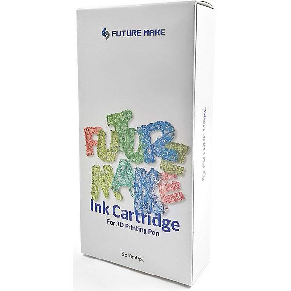 Набор картриджей для 3D ручки Future Make Polyes PS Микс А, 5штПластик для 3D ручек<br>Характеристики товара: <br><br>• возраст: от 4 лет;<br>• в комплекте: 5 картриджей;<br>• цвета: коричневый, черный, красный, желтый, зеленый;<br>• размер упаковки: 16х8х3,6 см;<br>• вес упаковки: 142 гр.;<br>• страна производитель: Китай.<br><br>Набор картриджей для 3D ручки Polyes PS Микс А создан специально для 3D ручки Polyes PS, работающей без нагрева. Материал для ручки представляет собой фотополимер, застывающий под воздействием ультрафиолетовых лучей.<br><br>Набор картриджей для 3D ручки Polyes PS Микс А можно приобрести в нашем интернет-магазине.<br>Ширина мм: 160; Глубина мм: 80; Высота мм: 36; Вес г: 142; Возраст от месяцев: 48; Возраст до месяцев: 1188; Пол: Унисекс; Возраст: Детский; SKU: 7556151;