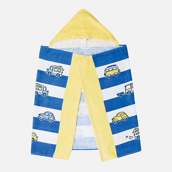 Полотенце Mayoral для мальчикаПеленки и полотенца<br>Характеристики товара:<br><br>• цвет: желтый<br>• состав ткани: 100% хлопок<br>• размер: 100 х 60 см<br>• сезон: круглый год<br>• особенности модели: с капюшоном<br>• страна бренда: Испания<br>• неповторимый стиль Mayoral<br><br>Полотенце для детей дополнено мягким удобным капюшоном. Это детское полотенце от известного испанского бренда Mayoral очень мягкое и приятное на ощупь. Хлопковое полотенце для детей разработано для самых маленьких.<br><br>Полотенце Mayoral (Майорал) можно купить в нашем интернет-магазине.<br>Ширина мм: 170; Глубина мм: 157; Высота мм: 67; Вес г: 117; Цвет: желтый; Возраст от месяцев: 108; Возраст до месяцев: 132; Пол: Мужской; Возраст: Детский; Размер: one size; SKU: 7556784;