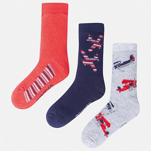 Комплект:3 пары носок Mayoral для мальчикаНоски<br>Характеристики товара:<br><br>• цвет: синий<br>• комплектация: 3 пары<br>• состав ткани: 70% хлопок, 27% полиамид, 3% эластан<br>• сезон: круглый год<br>• страна бренда: Испания<br>• неповторимый стиль Mayoral<br><br>Удобные носки для мальчика от популярного бренда Mayoral отличаются оригинальным декором. Детские носки смотрятся аккуратно и нарядно. В таких носках для детей от испанской компании Майорал ребенок будет выглядеть модно, а чувствовать себя - комфортно. <br><br>Комплект: 3 пары носков Mayoral (Майорал) для мальчика можно купить в нашем интернет-магазине.<br>Ширина мм: 87; Глубина мм: 10; Высота мм: 105; Вес г: 115; Цвет: бордовый; Возраст от месяцев: 24; Возраст до месяцев: 36; Пол: Мужской; Возраст: Детский; Размер: 24-26,33-35,30-32,27-29; SKU: 7557014;