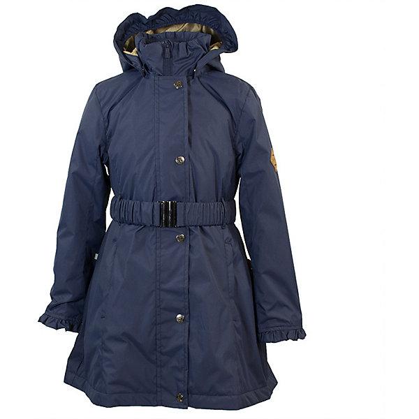 Пальто LEANDRA Huppa для девочекВерхняя одежда<br>Характеристики товара:<br><br>• цвет: синий; <br>• модель: Leandra;<br>• состав: 100% полиэстер;<br>• подкладка: 100% полиэстер, тафта;<br>• утеплитель: 100% полиэстер, 40 гр.;<br>• сезон: демисезон;<br>• температурный режим: от -5 до +10С;<br>• водонепроницаемость: 5000 мм ;<br>• воздухопроницаемость: 5000 г/м2/24ч;<br>• ветронепроницаемая;<br>• застежка: молния с защитой подбородка;<br>• дополнительная планка на кнопках;<br>• съёмный капюшон на кнопках;<br>• низ сзади, капюшон и манжеты украшены воланами;<br>• в комплекте съёмный ремень;<br>• приталенный крой;<br>• два кармана на молнии;<br>• внутренний карман на молнии;<br>• светоотражающие детали;<br>• страна бренда: Эстония;<br>• страна изготовитель: Эстония.<br><br>Утепленное пальто на молнии обеспечит детям тепло и комфорт. Пальто с капюшоном сделано из материала, отталкивающего воду, дополнена подкладкой из тафты и утеплителем, поэтому изделие идеально подходит для межсезонья. <br><br>Материал изделия - с мембранной технологией: защищает от влаги и ветра, ветронепродуваемое. Капюшон легко снимается при помощи кнопок, пальто дополнено съёмный ремнём. Имеется два кармана на молнии и один внутренний карман на молнии.<br><br>Пальто LEANDRA от бренда Huppa (Хуппа) можно купить в нашем интернет-магазине.<br>Ширина мм: 356; Глубина мм: 10; Высота мм: 245; Вес г: 519; Цвет: темно-синий; Возраст от месяцев: 72; Возраст до месяцев: 84; Пол: Женский; Возраст: Детский; Размер: 122,152,146,140,134,128; SKU: 7570971;