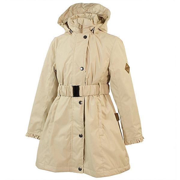 Пальто LEANDRA Huppa для девочекВерхняя одежда<br>Характеристики товара:<br><br>• цвет: светло-бежевый; <br>• модель: Leandra;<br>• состав: 100% полиэстер;<br>• подкладка: 100% полиэстер, тафта;<br>• утеплитель: 100% полиэстер, 40 гр.;<br>• сезон: демисезон;<br>• температурный режим: от -5 до +10С;<br>• водонепроницаемость: 5000 мм ;<br>• воздухопроницаемость: 5000 г/м2/24ч;<br>• ветронепроницаемая;<br>• застежка: молния с защитой подбородка;<br>• дополнительная планка на кнопках;<br>• съёмный капюшон на кнопках;<br>• низ сзади, капюшон и манжеты украшены воланами;<br>• в комплекте съёмный ремень;<br>• приталенный крой;<br>• два кармана на молнии;<br>• внутренний карман на молнии;<br>• светоотражающие детали;<br>• страна бренда: Эстония;<br>• страна изготовитель: Эстония.<br><br>Утепленное пальто на молнии обеспечит детям тепло и комфорт. Пальто с капюшоном сделано из материала, отталкивающего воду, дополнена подкладкой из тафты и утеплителем, поэтому изделие идеально подходит для межсезонья. <br><br>Материал изделия - с мембранной технологией: защищает от влаги и ветра, ветронепродуваемое. Капюшон легко снимается при помощи кнопок, пальто дополнено съёмный ремнём. Имеется два кармана на молнии и один внутренний карман на молнии.<br><br>Пальто LEANDRA от бренда Huppa (Хуппа) можно купить в нашем интернет-магазине.<br>Ширина мм: 356; Глубина мм: 10; Высота мм: 245; Вес г: 519; Цвет: бежевый; Возраст от месяцев: 84; Возраст до месяцев: 96; Пол: Женский; Возраст: Детский; Размер: 128,122,152,146,140,134; SKU: 7570978;