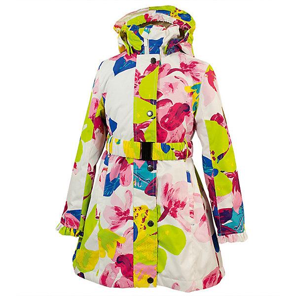Пальто LEANDRA Huppa для девочекВерхняя одежда<br>Характеристики товара:<br><br>• цвет: белый принт; <br>• модель: Leandra;<br>• состав: 100% полиэстер;<br>• подкладка: 100% полиэстер, тафта;<br>• утеплитель: 100% полиэстер, 40 гр.;<br>• сезон: демисезон;<br>• температурный режим: от -5 до +10С;<br>• водонепроницаемость: 5000 мм ;<br>• воздухопроницаемость: 5000 г/м2/24ч;<br>• ветронепроницаемая;<br>• застежка: молния с защитой подбородка;<br>• дополнительная планка на кнопках;<br>• съёмный капюшон на кнопках;<br>• низ сзади, капюшон и манжеты украшены воланами;<br>• в комплекте съёмный ремень;<br>• приталенный крой;<br>• два кармана на молнии;<br>• внутренний карман на молнии;<br>• светоотражающие детали;<br>• страна бренда: Эстония;<br>• страна изготовитель: Эстония.<br><br>Утепленное пальто на молнии обеспечит детям тепло и комфорт. Пальто с капюшоном сделано из материала, отталкивающего воду, дополнена подкладкой из тафты и утеплителем, поэтому изделие идеально подходит для межсезонья. <br><br>Материал изделия - с мембранной технологией: защищает от влаги и ветра, ветронепродуваемое. Капюшон легко снимается при помощи кнопок, пальто дополнено съёмный ремнём. Имеется два кармана на молнии и один внутренний карман на молнии.<br><br>Пальто LEANDRA от бренда Huppa (Хуппа) можно купить в нашем интернет-магазине.<br>Ширина мм: 356; Глубина мм: 10; Высота мм: 245; Вес г: 519; Цвет: белый; Возраст от месяцев: 132; Возраст до месяцев: 144; Пол: Женский; Возраст: Детский; Размер: 152,104,110,116,122,128,134,140,146; SKU: 7570985;