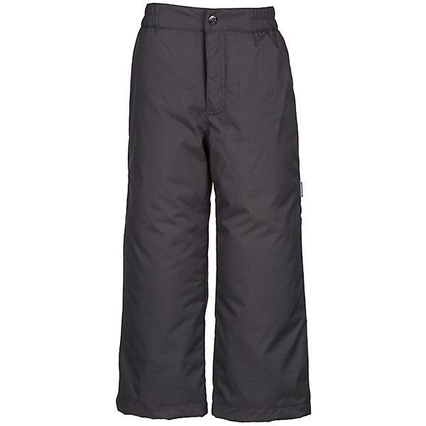 Брюки TEVIN HuppaВерхняя одежда<br>Характеристики товара:<br><br>• цвет: тёмно-серый; <br>• модель: Tevin 1;<br>• состав: 100% полиэстер;<br>• подкладка: 100% полиэстер, тафта;<br>• утеплитель: 100% полиэстер, 40 гр.;<br>• сезон: демисезон;<br>• температурный режим: от -5 до +10С;<br>• водонепроницаемость: 10000 мм ;<br>• воздухопроницаемость: 10000 г/м2/24ч;<br>• ветронепродуваемые;<br>• застежка: ширинка на молнии и пуговица;<br>• сидельный шов проклеен;<br>• регулируемый низ брючин;<br>• эластичный шнур-фиксатор по низу брючин;<br>• внутренние петли для подтяжек<br>• подтяжки в комплект не входят;<br>• светоотражающие детали;<br>• страна бренда: Эстония;<br>• страна изготовитель: Эстония.<br><br>Утепленные брюки на подтяжках сделаны из материала, отталкивающего воду, дополнены подкладкой из тафты и утеплителем, поэтому изделие идеально подходит для межсезонья. Материал изделия - с мембранной технологией: защищает от влаги и ветра, ветронепродуваемые. Демисезонные брюки дополнены внутренними петлями для подтяжек. Регулируемый низ брючин и проклеенный сидельный шов. Подтяжки в комплект не входят.<br><br>Брюки TEVIN 1 от бренда Huppa (Хуппа) можно купить в нашем интернет-магазине.<br>Ширина мм: 215; Глубина мм: 88; Высота мм: 191; Вес г: 336; Цвет: темно-серый; Возраст от месяцев: 96; Возраст до месяцев: 108; Пол: Унисекс; Возраст: Детский; Размер: 134,128,122,170,164,158,152,146,140; SKU: 7571057;