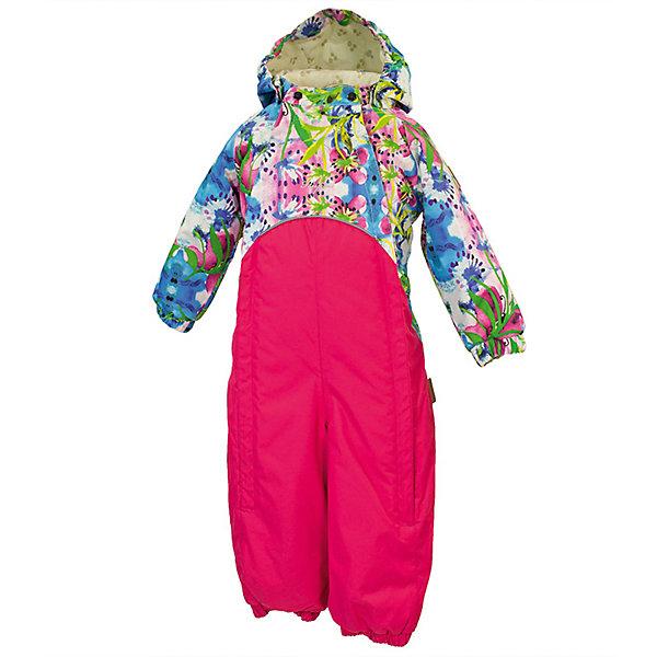 Комбинезон GOLDEN HuppaВерхняя одежда<br>Характеристики товара:<br><br>• цвет: лиловый принт/фуксия; <br>• модель: Golden;<br>• состав: 100% полиэстер;<br>• подкладка: 100% хлопок, фланель;<br>• утеплитель: 100% полиэстер, 100 гр.;<br>• сезон: демисезон;<br>• температурный режим: от -5 до +10С;<br>• водонепроницаемость: 5000 мм ;<br>• воздухопроницаемость: 5000 г/м2/24ч;<br>• ветронепродуваемый;<br>• застежка: двойная молния и кнопки на воротнике;<br>• сидельный шов и боковые швы проклеены;<br>• съёмный капюшон на кнопках;<br>• эластичная резинка по кромке капюшона;<br>• манжеты рукавов на мягкой эластичной резинке;<br>• манжеты с отворотом у размеров 62-80;<br>• манжеты брюк на резинке;<br>• съемные эластичные штрипки;<br>• без внутренних швов;<br>• светоотражающие элементы;<br>• страна бренда: Эстония;<br>• страна изготовитель: Эстония.<br><br>Утепленный комбинезон сделан из материала, отталкивающего воду, дополнен подкладкой из тафты и утеплителем, поэтому изделие идеально подходит для межсезонья. Материал изделия - с мембранной технологией: защищает от влаги и ветра, ветронепродуваемый. Демисезонный комбинезон застёгивается на две молнии и кнопки на воротнике, манжеты у комбинезона с отворотами в размерах с 62 по 80. Комбинезон с отстёгивающимся капюшоном на кнопках, имеются съёмные эластичные штрипки.<br><br>Комбинезон GOLDEN от бренда Huppa (Хуппа) можно купить в нашем интернет-магазине.<br>Ширина мм: 356; Глубина мм: 10; Высота мм: 245; Вес г: 519; Цвет: розовый; Возраст от месяцев: 12; Возраст до месяцев: 15; Пол: Унисекс; Возраст: Детский; Размер: 80,98,92,86; SKU: 7571201;