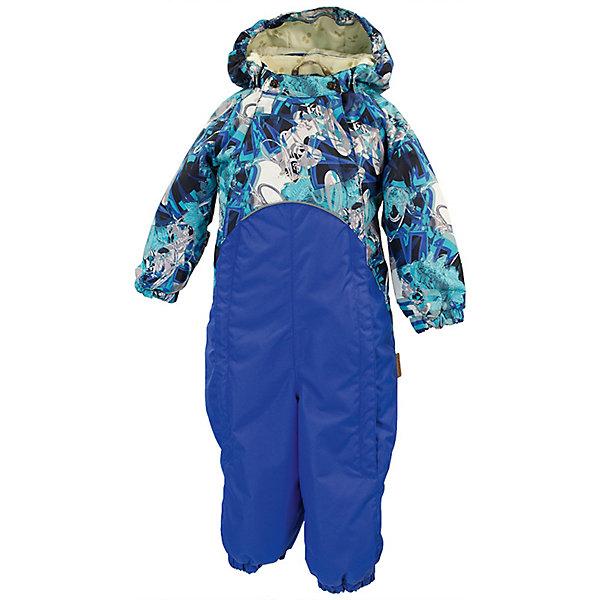 Комбинезон GOLDEN HuppaВерхняя одежда<br>Характеристики товара:<br><br>• цвет: синий принт/синий; <br>• модель: Golden;<br>• состав: 100% полиэстер;<br>• подкладка: 100% хлопок, фланель;<br>• утеплитель: 100% полиэстер, 100 гр.;<br>• сезон: демисезон;<br>• температурный режим: от -5 до +10С;<br>• водонепроницаемость: 5000 мм ;<br>• воздухопроницаемость: 5000 г/м2/24ч;<br>• ветронепродуваемый;<br>• застежка: двойная молния и кнопки на воротнике;<br>• сидельный шов и боковые швы проклеены;<br>• съёмный капюшон на кнопках;<br>• эластичная резинка по кромке капюшона;<br>• манжеты рукавов на мягкой эластичной резинке;<br>• манжеты с отворотом у размеров 62-80;<br>• манжеты брюк на резинке;<br>• съемные эластичные штрипки;<br>• без внутренних швов;<br>• светоотражающие элементы;<br>• страна бренда: Эстония;<br>• страна изготовитель: Эстония.<br><br>Утепленный комбинезон сделан из материала, отталкивающего воду, дополнен подкладкой из тафты и утеплителем, поэтому изделие идеально подходит для межсезонья. Материал изделия - с мембранной технологией: защищает от влаги и ветра, ветронепродуваемый. Демисезонный комбинезон застёгивается на две молнии и кнопки на воротнике, манжеты у комбинезона с отворотами в размерах с 62 по 80. Комбинезон с отстёгивающимся капюшоном на кнопках, имеются съёмные эластичные штрипки.<br><br>Комбинезон GOLDEN от бренда Huppa (Хуппа) можно купить в нашем интернет-магазине.<br>Ширина мм: 356; Глубина мм: 10; Высота мм: 245; Вес г: 519; Цвет: темно-синий; Возраст от месяцев: 12; Возраст до месяцев: 15; Пол: Унисекс; Возраст: Детский; Размер: 80,98,92,86; SKU: 7571231;