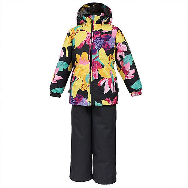 Комплект YONNE Huppa для девочекВерхняя одежда<br>Характеристики товара:<br><br>• цвет: тёмно-серый принт/тёмно-серый; <br>• модель: Yonne;<br>• состав: 100% полиэстер;<br>• подкладка: 100% полиэстер, тафта;<br>• утеплитель: 100% полиэстер, куртка - 100 гр., полукомбинезон – 40 гр.;<br>• сезон: демисезон;<br>• температурный режим: от -5 до +10С;<br>• водонепроницаемость: куртка 5000, брюки 10000 мм ;<br>• воздухопроницаемость: куртка 5000, брюки 10000 г/м2/24ч;<br>• ветронепродуваемый;<br>• застежка: молния с защитой подбородка, полукомбинезон на молнии;<br>• сидельный шов проклеен;<br>• съёмный капюшон на кнопках;<br>• эластичная резинка по кромке капюшона;<br>• манжеты рукавов на мягкой эластичной резинке;<br>• регулируемый низ брючин;<br>• шнурок-утяжка со стопером по низу брючин;<br>• без внутренних швов;<br>• два прорезных кармана у куртки;<br>• полукомбинезон на мягких эластичных подтяжках;<br>• подтяжки не отстёгиваются;<br>• светоотражающие элементы;<br>• страна бренда: Эстония;<br>• страна изготовитель: Эстония.<br><br>Утепленный комплект сделан из материала, отталкивающего воду, дополнен подкладкой из тафты и утеплителем, поэтому изделие идеально подходит для межсезонья. Материал изделия - с мембранной технологией: защищает от влаги и ветра, ветронепродуваемый. Демисезонный комплект застёгивается на молнию, манжеты рукавов на мягкой эластичной резинке. Полукомбинезон с подтяжками и регулируемым низом штанин с утяжкой-стопером.<br><br>Комплект YONNE от бренда Huppa (Хуппа) можно купить в нашем интернет-магазине.<br>Ширина мм: 356; Глубина мм: 10; Высота мм: 245; Вес г: 519; Цвет: темно-серый; Возраст от месяцев: 18; Возраст до месяцев: 24; Пол: Женский; Возраст: Детский; Размер: 92,122,116,110,104,98; SKU: 7571461;