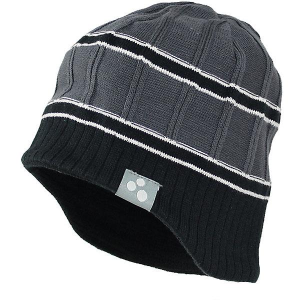 Купить Шапка JARROD Huppa, Эстония, серый, 55-57, 57, 47-49, 51-53, Унисекс