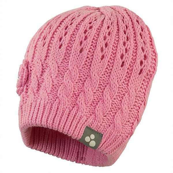 Шапка DINA HuppaГоловные уборы<br>Характеристики товара:<br><br>• цвет: розовый; <br>• модель: Dina;<br>• состав: 60% хлопок, 40% акрил;<br>• без дополнительного утепления;<br>• сезон: демисезон;<br>• температурный режим: от -5 до +10С;<br>• особенности: вязаная;<br>• декорирована объёмным цветком;<br>• светоотражающие элементы;<br>• страна бренда: Эстония;<br>• страна изготовитель: Эстония.<br><br>Вязаная шапка из хлопка и акрила, декорирована объёмным цветочком. Шапка дополнена светоотражающей эмблемой.<br><br>Шапку DINA от бренда Huppa (Хуппа) можно купить в нашем интернет-магазине.<br>Ширина мм: 89; Глубина мм: 117; Высота мм: 44; Вес г: 155; Цвет: розовый; Возраст от месяцев: 72; Возраст до месяцев: 132; Пол: Женский; Возраст: Детский; Размер: 55-57,57,47-49,51-53; SKU: 7571650;