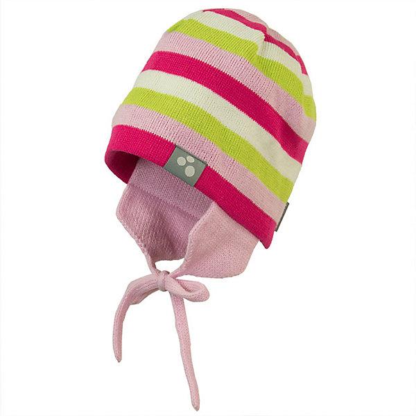 Шапка CAIRO HuppaДемисезонные<br>Характеристики товара:<br><br>• цвет: розовый; <br>• модель: Cairo;<br>• состав: 100% акрил;<br>• без дополнительного утепления;<br>• сезон: демисезон;<br>• температурный режим: от -5 до +10С;<br>• особенности: вязаная, в полоску;<br>• шапка на завязках;<br>• защита ушей от ветра;<br>• светоотражающие элементы;<br>• страна бренда: Эстония;<br>• страна изготовитель: Эстония.<br><br>Вязаная шапка из акрила с накладками на уши для защиты от ветра. Шапка завязывается на завязки, декорирована цветными полосками. Шапка дополнена светоотражающей эмблемой.<br><br>Шапку CAIRO от бренда Huppa (Хуппа) можно купить в нашем интернет-магазине.<br>Ширина мм: 89; Глубина мм: 117; Высота мм: 44; Вес г: 155; Цвет: розовый; Возраст от месяцев: 72; Возраст до месяцев: 132; Пол: Унисекс; Возраст: Детский; Размер: 55-57,43-45,47-49,51-53; SKU: 7571790;